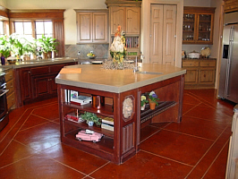 Samples odd shaped island houzz odd shape kitchen design for Kitchen designs for odd shaped rooms